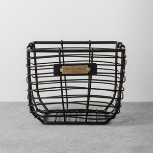 HEARTH AND HAND Magnolia Small Wire Basket NWT